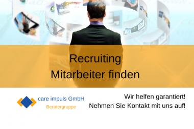 Recruiting - Mitarbeiter heute finden