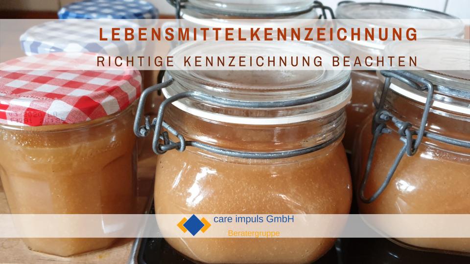 Lebensmittelkennzeichnung care impuls GmbH